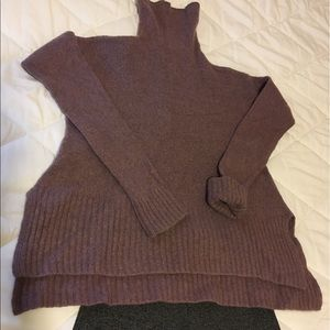 Loft Lou & Grey wool lavender sweater